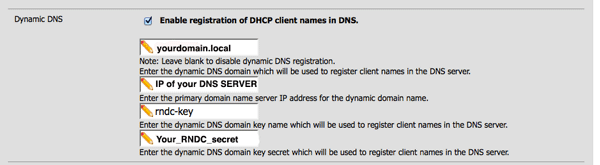 Linux server] How to update DNS entries from DHCP to BIND9