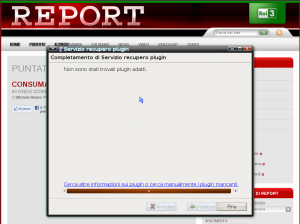 Plugin Silverlight inesistente