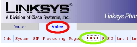 FXS select